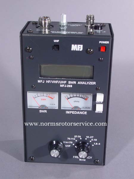 Norm's Rotor Service sells Hy-Gain, MFJ, Mirage and